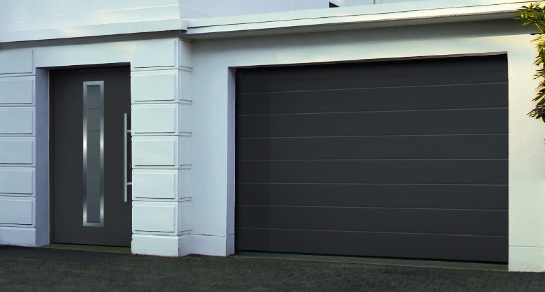 Amazing Composite Front Dooratching Garage Doors Contemporary